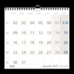 1-maandkalenders