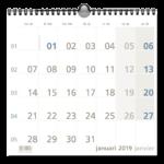 1-Monat Notizkalender