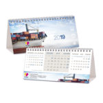 Desk calendars - personalized cover and standard calendar pad