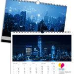 Skyline Blau | 420 x 297 mm